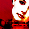 Katie Holmes red